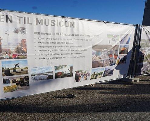 Musicon CityLoops cirkulær økonomi Roskilde